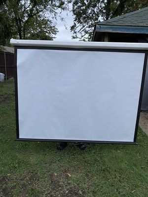 Projector Screen for Sale in Dallas, TX