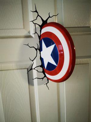 Captain America 3D Light for Sale in Pomona, CA