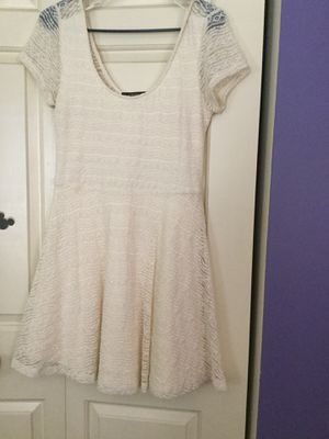 Cute white lace dress for Sale in Chantilly, VA