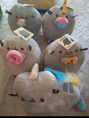 Pusheen Plushes set of 5 (New) for Sale in Santa Ana, CA