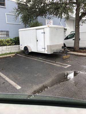 Trailer 6x12 enclosed trailer for Sale in Miami, FL