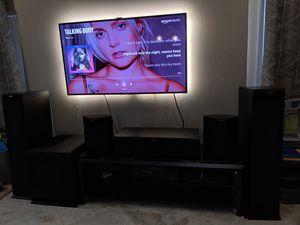 "5.1 Klipsch Reference Premiere Surround Sound System 15"" Sub w/Denon Dolby Atmos 4K Receiver for Sale in Orlando, FL"