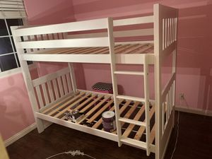 Twin over twin bunk bed for Sale in Irvine, CA