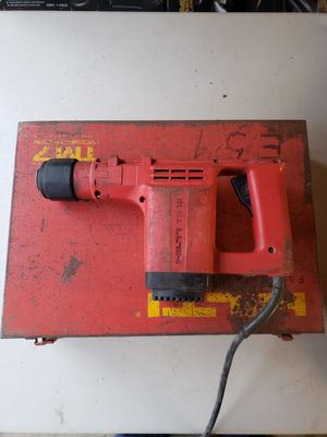 Hilti TE12 SDS Rotary Hammer Drill w Case for Sale in North Haven, CT