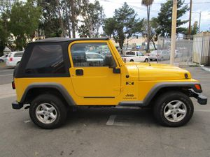 2004 Jeep Wrangler X 2dr X for Sale in Los Angeles, CA
