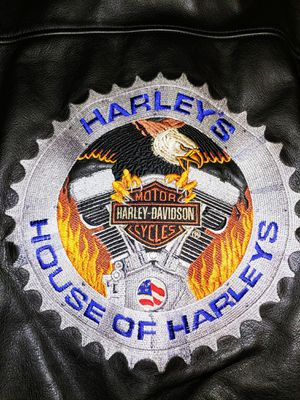 Harley-Davidson leather jacket for Sale in Alta Loma, CA