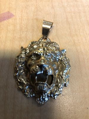 Gold Lion Charm for Sale in Portland, OR