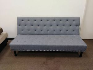 New Sofa Bed Grey Linen for Sale in Puyallup, WA