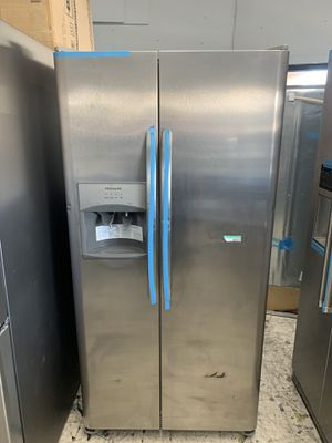 Frigidaire stainless steel apartment size refrigerator for Sale in Oceanside, CA