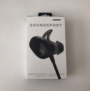 **BOSE SOUNDSPORT WIRELESS EARPHONES** for Sale in Glenview, IL