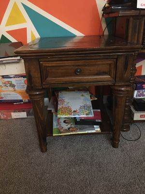 Set of end tables - living room for Sale in Raleigh, NC