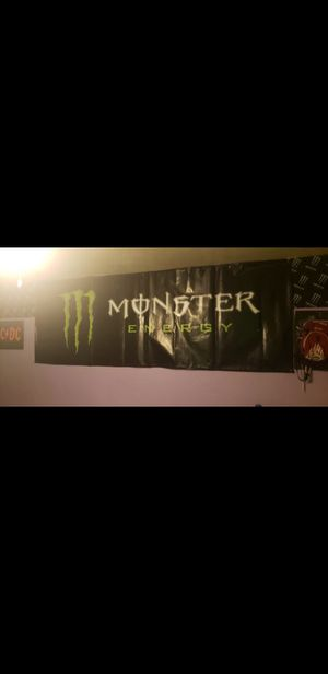 Monster energy banners for Sale in El Monte, CA