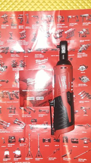 """Milwaukee 1/4"""" Ratchet M12 for Sale in Downey, CA"""