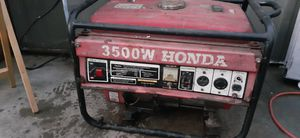 Generator Honda 3500 w for Sale in Compton, CA