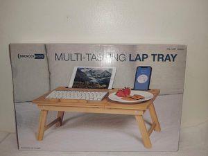 Multi tasking lap tray above bed for laptop or food Mesita para computadora portátil o comida Birdrock Home for Sale in Miami, FL