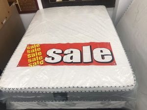 full bamboo pillow top mattress with boxspring for Sale in Santa Ana, CA