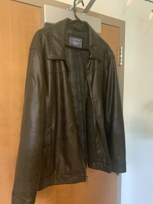 Bass leather jacket for Sale in Arlington, VA