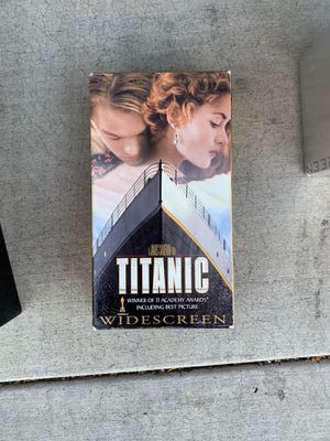 VHS titanic movie for Sale in Upland, CA