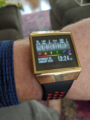 40mm fitbit ionic smart watch waterproof 8 day battery for Sale in Elk Grove, CA