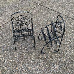 Wroght Iron magazine racks for Sale in Beavercreek,  OR