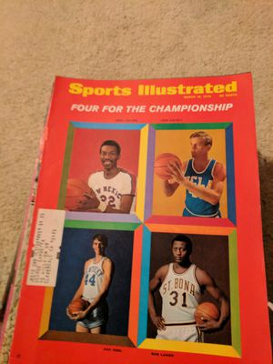 1970 sports illustrated four for the championship for Sale in Corinth, ME