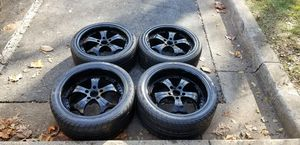 4 19 in 5x120 bmw wheels rims and tires for Sale in Germantown, MD