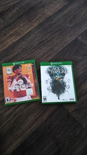 Xbox one games for Sale in Hutto, TX