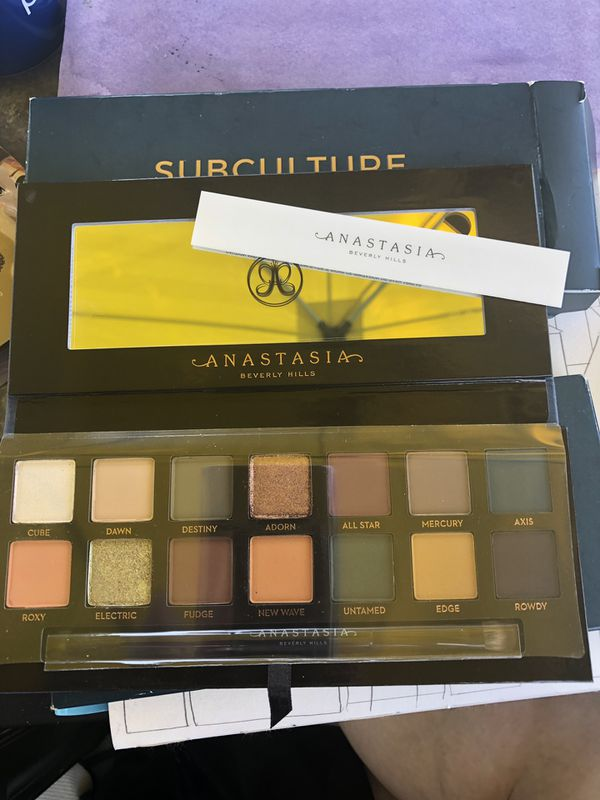 Anastasia Beverly Hills Subculture Palette NEW IN BOX