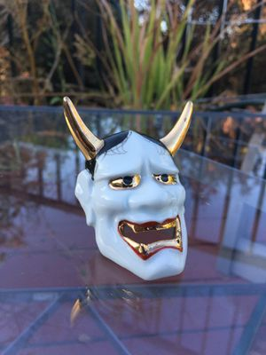 Small vintage Japanese devil's head mask for Sale in Hayward, CA