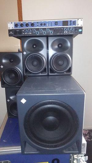 Studio speaker set Recording equipment for Sale in Santa Fe Springs, CA