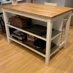 Kitchen Island With Two Stools for Sale in Seattle,  WA