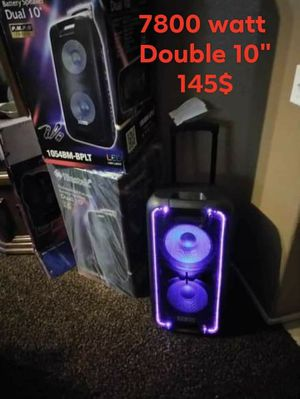 IBASTEK BLUETOOTH SPEAKERS ALL SIZES for Sale in Victorville, CA