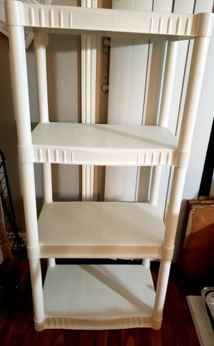 White shelves storage for Sale in Sunnyvale, CA