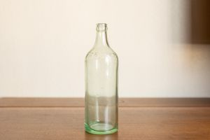 Antique Moxie Aqua Glass Bottle A.B. Co. Embossed Trademark Registered U.S. Pat. Office Soda Advertising for Sale in Sun City, AZ