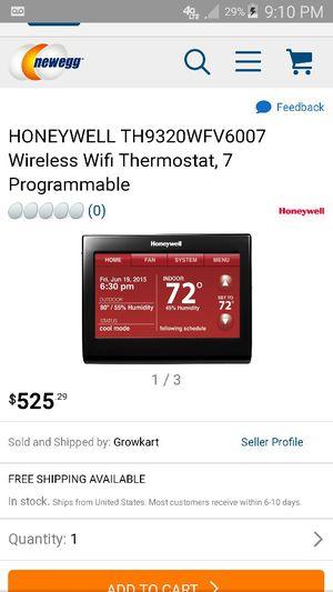 Honeywell smart thermostat for Sale in Newport News, VA