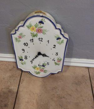 Porcelain clock for Sale in Baldwin Park, CA