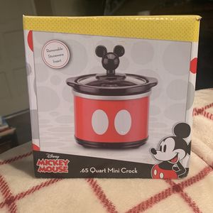 Disney Mickey Mouse Mini Crock Pot for Sale in Orange, CA