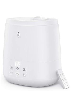 TaoTronics Humidifiers for Bedroom (6L), Warm and Cool Mist Humidifiers For Home (Top Fill Ultrasonic Air Humidifier, Customized Humidity, Remote Con for Sale in West Haven, CT