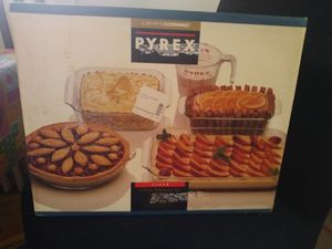 Crown Corning PYREX 5-piece Bakeware set for Sale in Clifton Heights, PA