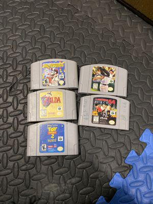 N64 games for Sale in Damascus, OR