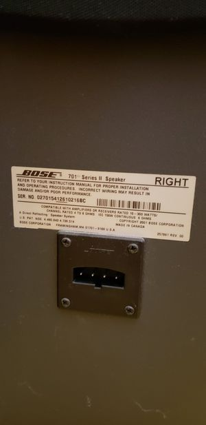 Bose speaker good condition for Sale in Middletown, RI