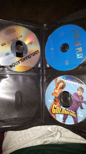 Lot of dvds and case for Sale in Charlotte, NC