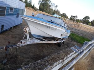 1959 Lone Star boat and trailer. for Sale in Walnut Grove, CA