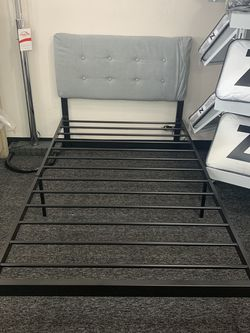 (JUST $54 DOWN) Brand New twin Bed frame (Financing and Delivery available) for Sale in Carrollton,  TX