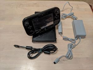 Nintendo Wii U 32GB Black Console Deluxe Set Edition US Version WUP-101 (02) for Sale in Corona, CA