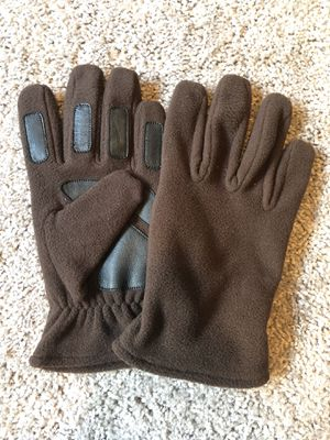 Fleece Gloves with leather. for Sale in Haltom City, TX