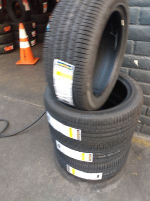 Set of new four tires Goodyear 215 45 17 free professional installation for Sale in Norwalk, CA