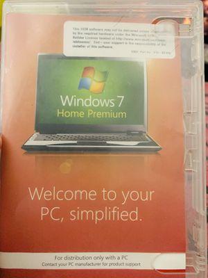Windows 7 , home premium for Sale in Annandale, VA