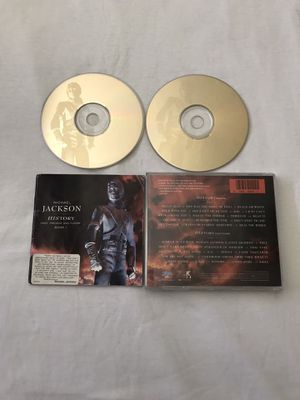Michael Jackson History Past And Future 2 Disc Set Discs Have Few Scratches But Playable Great Condition for Sale in Reedley, CA