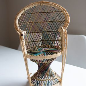 Rattan Doll Chair for Sale in Tualatin, OR